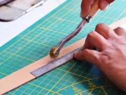 Molette à marquer le cuir pour couture à la main - 3,5 mm - Cuirenstock
