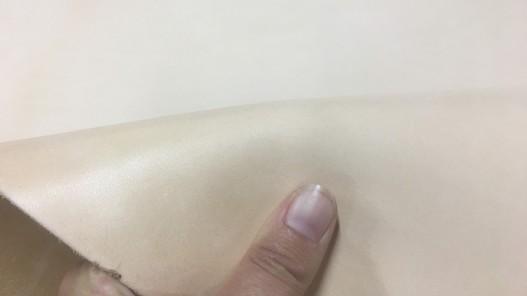 Collet de vache pur végétal naturel 2 mm cuir ceinture Cuir en Stock
