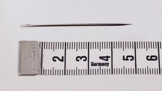 Aiguilles carrelet large triangle qualité pro Bohin france Cuirenstock