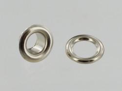 Œillet à rouler avec rondelle finition pro cuir tissus bâche - Cuir en Stock