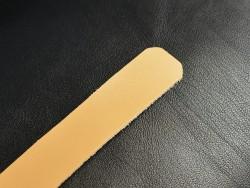 Lanière de cuir 25mm cuir tannage végétal - Cuir en Stock