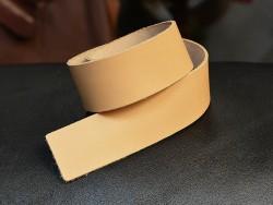 Bande de cuir 35 mm tannage végétal - Cuir en Stock