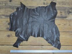 Peau de cuir de buffle brun - Cuir en Stock