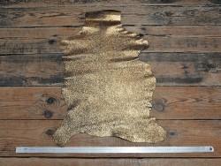 Chèvre pailleté bronze