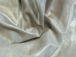 Cuir velours pailleté doré maroquinerie vêtement Cuir en Stock