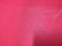 Grain de peau naturel cuir veau rouge maroquinerie vêtement cuirenstock
