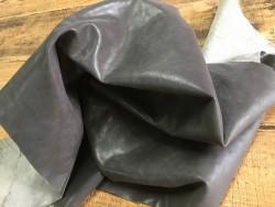 Tannage souple cuir de buffle naturel végétal gris cuirenstock