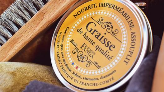 Graisse pour cuir fabrication artisanale française - Cuirenstock
