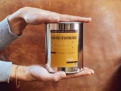 Coffret boite métal entretien du cuir - Sellerie automobile et cuir d'ameublement - Cuirenstock