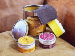 Kit coffret entretien du cuir Trimadel - Idée cadeau - Cuir en Stock