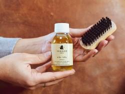 Shampoing et brosse pour l'entretien du cuir Famaco Vel Vel - Cuirenstock