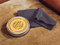 Chiffonnette Trimadel 20x20 cm lustrage du cuir - Cuirenstock
