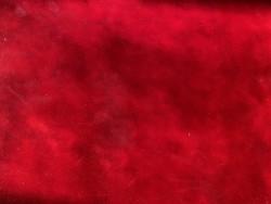 Cuir de veau vernis rouge profond Cuir en Stock