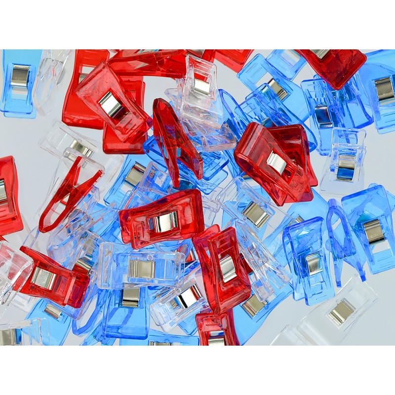 Pinces clip Bohin pour la couture et le collage du cuir - Cuirenstock