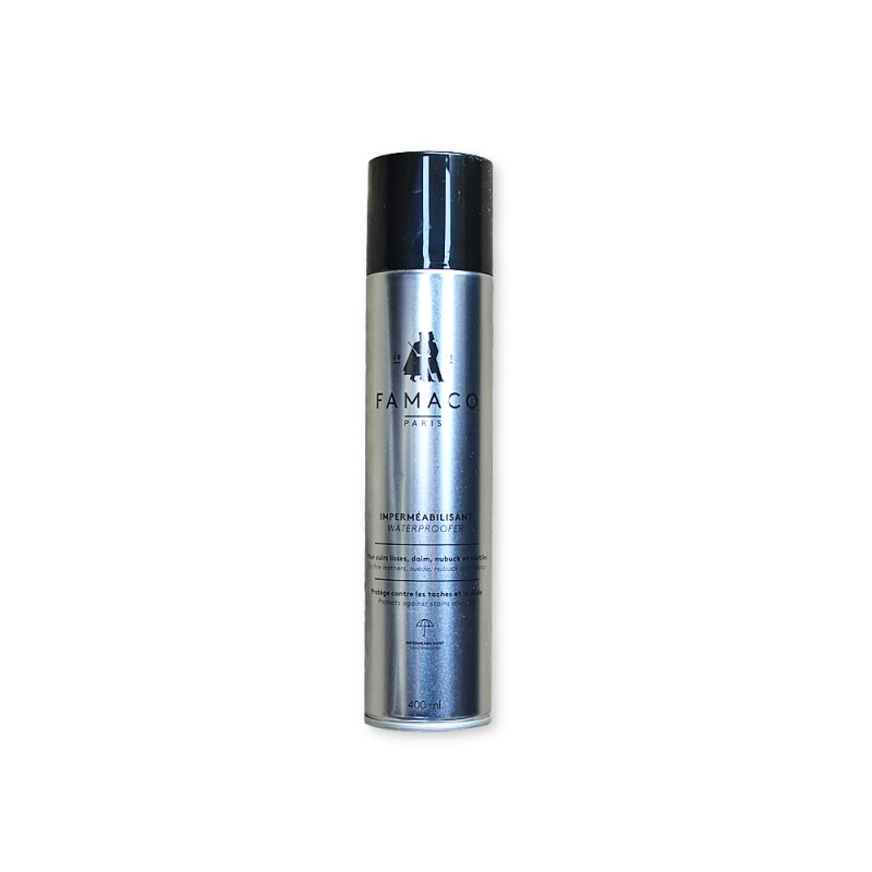 Bombe spray imperméabilisant pour cuir - Famaco Paris - Cuir en Stock