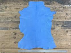 Chèvre nubuck bleu océan