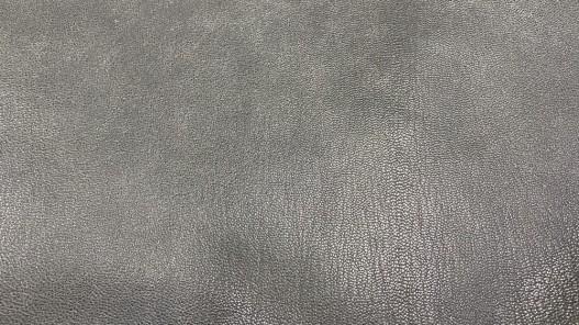 Cuir vintage antique gris maroquinerie Cuir en Stock