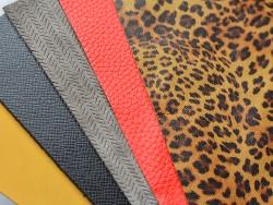Morceau de cuir en rectangles prédécoupés pour la création et loisirs créatifs - Cuir en Stock