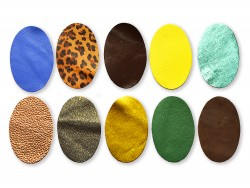 Assortiment morceaux de cuir pour créations maroquinerie et loisirs créatifs - Cuirenstock