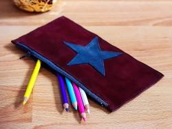 Patch écusson décoratif étoile couture et maroquinerie - Cuirenstock
