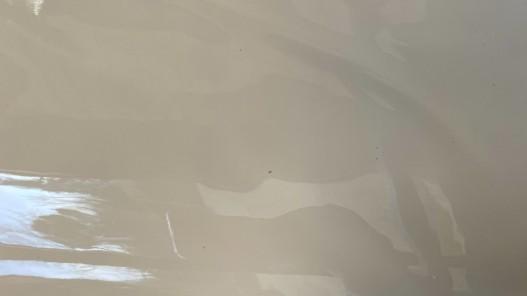 Cuir de veau vernis nude maroquinerie Cuir en Stock