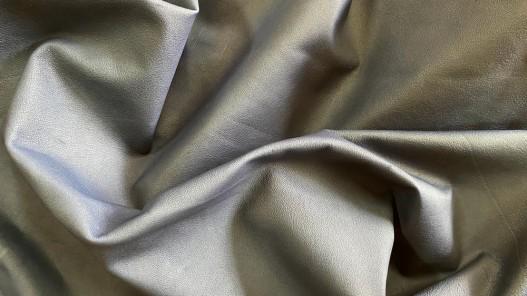Souplesse peau de cuir de mouton bleu cuirenstock