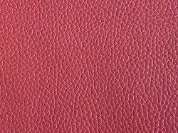 Cuir de taurillon grain togo couleur corail Cuir en Stock