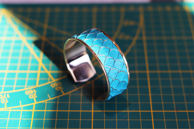 tuto Cuirenstock fabriquer un bracelet en cuir