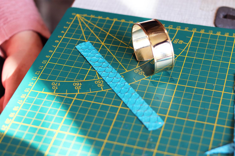création bijoux en cuir tuto facile et rapide