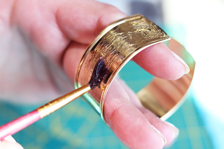 colle bijoux en cuir