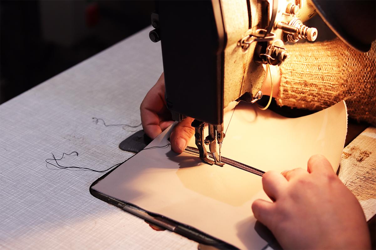 couture machine cuir tuto trousse pochette