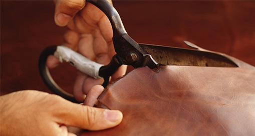 Découpe du cuir cuirenstock
