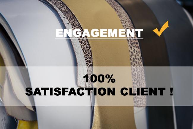 Cuir en Stock - boutique en ligne vente cuir peaux chutes - satisfaction client