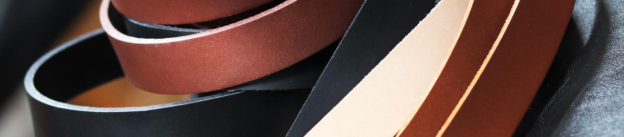bande lanière de cuir végétal pour anses de sac ceinture large cuirenstock