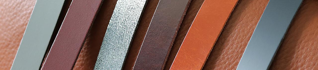 Bande et lanière de cuir classique et métallisé - Découpe sur-mesure - Cuir en Stock