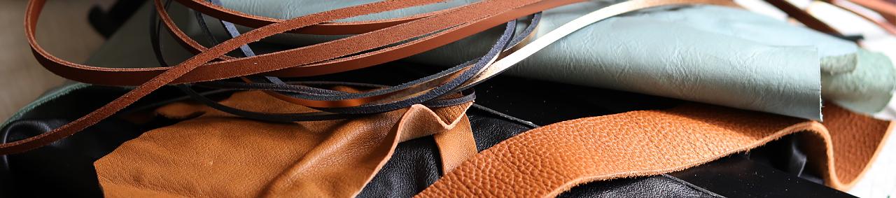 cuir pas cher chutes morceaux cuirenstock