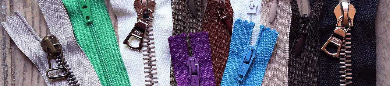 fermeture éclair zip métal couture cuir cuirenstock fermetures à glissière
