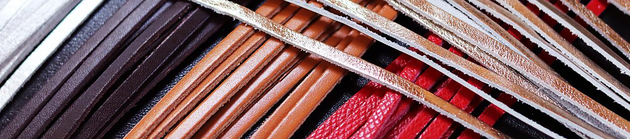 lanières et lacets en cuir de qualité cuirenstock vente lot