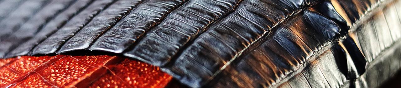 peau de crocodile cuir exotique cuirenstock