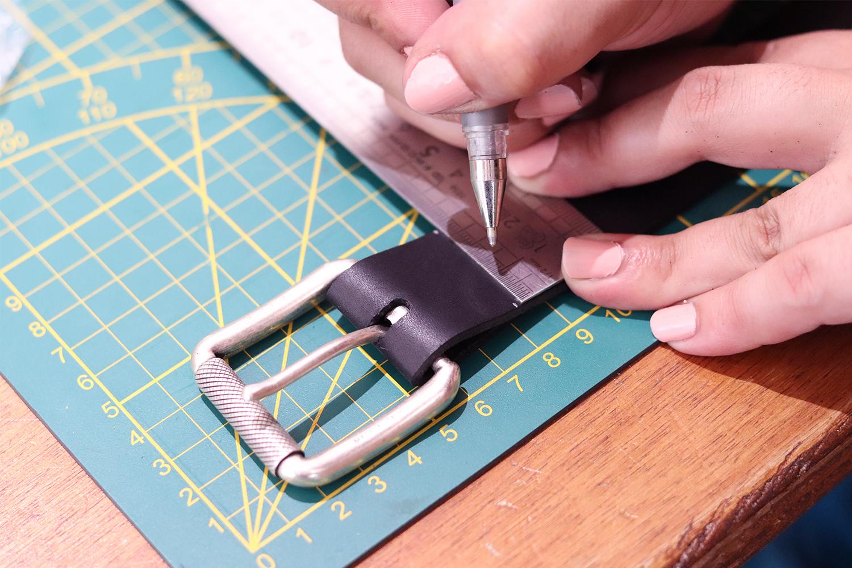 tutoriel ceinture en cuir cuirenstock