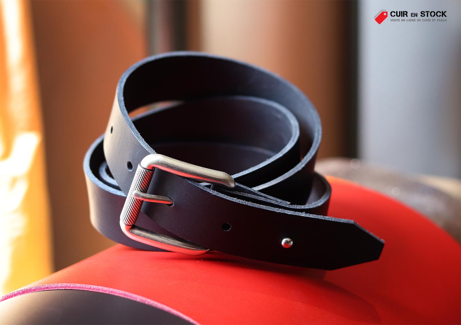 comment fabriquer une ceinture en cuir tutoriel cuirenstock