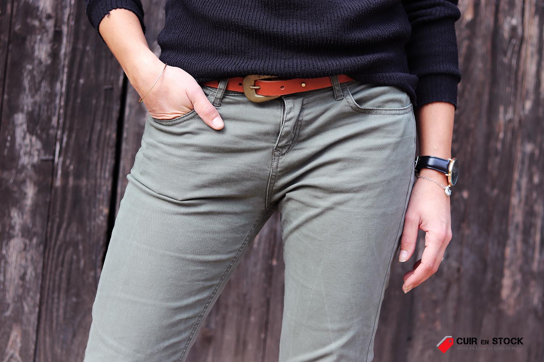 comment fabriquer une ceinture en cuir tannage végétal cuirenstock