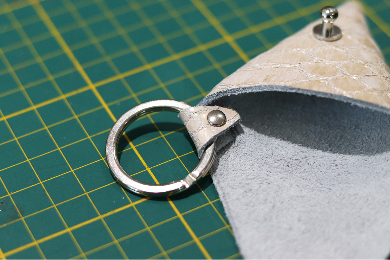 anneau brise plat 25mm pour travail du cuir cuirenstock