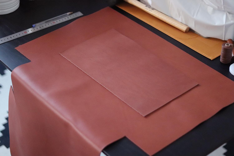 fabrication sac en cuir type cabas Cuir en Stock