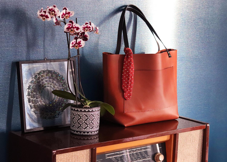 tutoriel tuto sac cabas en cuir tannage végétal Cuirenstock