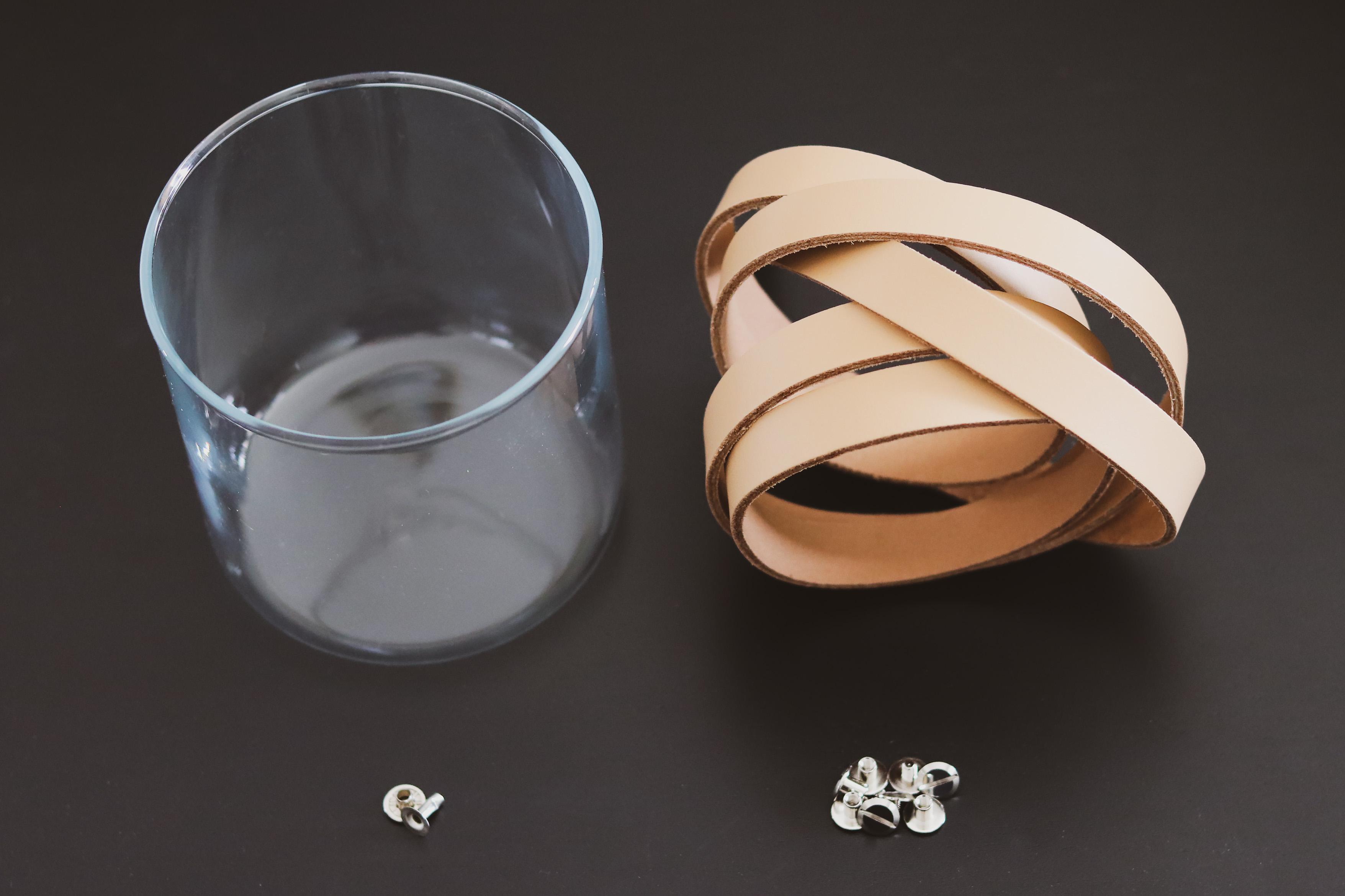 Fournitures tuto DIY Suspension florale en lanières de cuir - Cuir en Stock