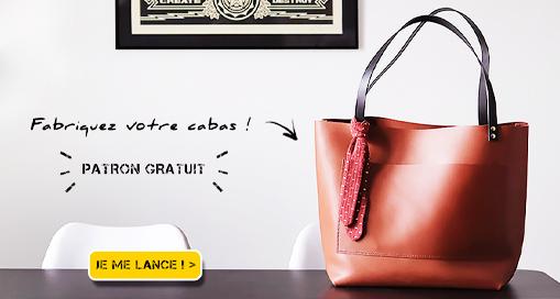 TUTO : Fabriquer un sac cabas en cuir (patron gratuit)