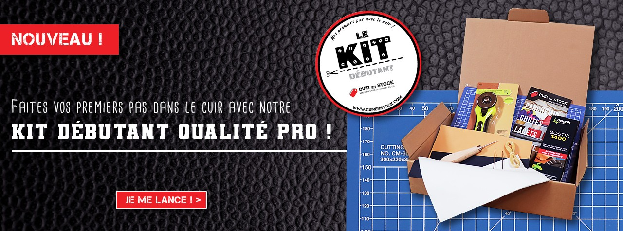 kit complet outils cuir maroquinerie cuirenstock box