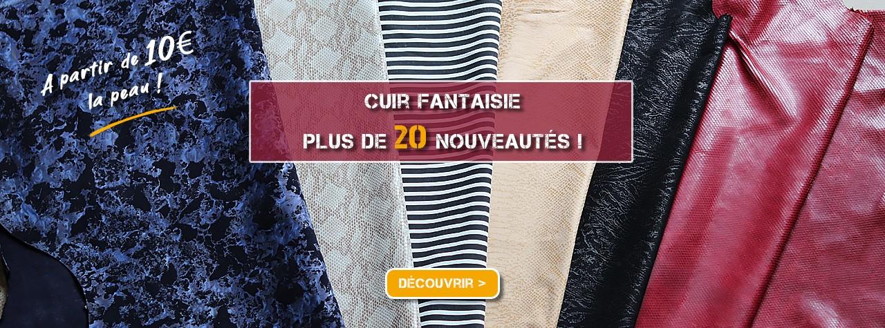Cuir fantaisie cuirenstock peaux à partir de 10 euros